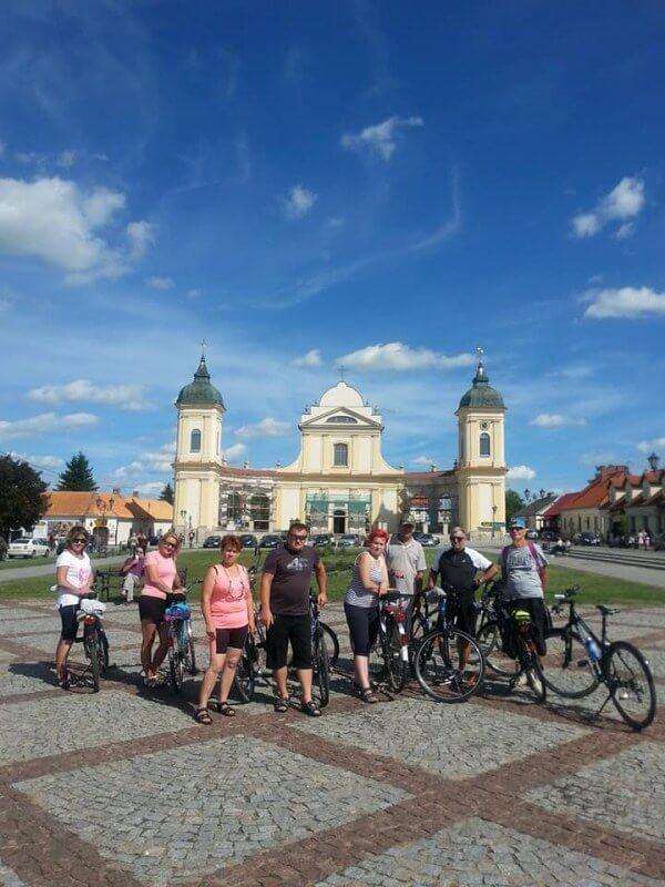 Wyjazd rowerowy klubu RH+ z Kołak do Tykocina