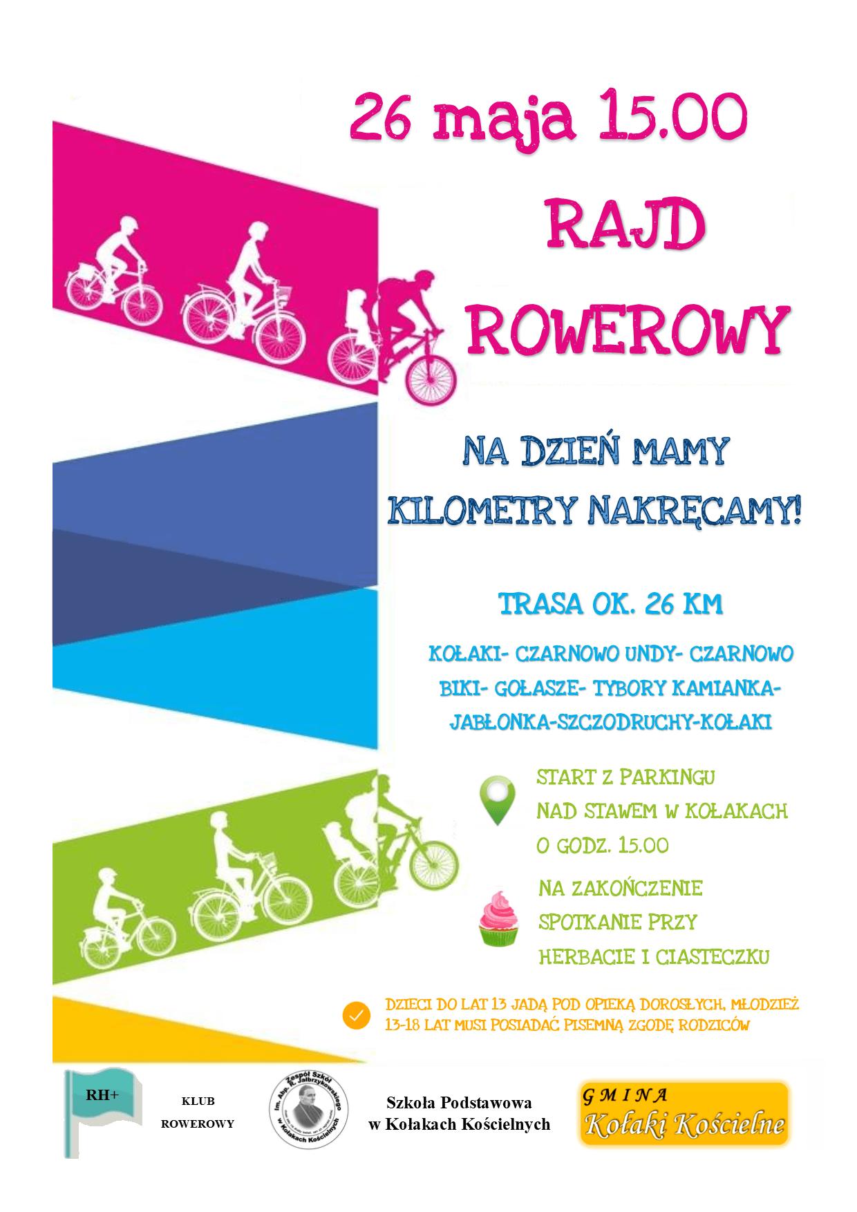 """""""Na Dzień Mamy kilometry nakręcamy!"""" – zaproszenie na wspólny rajd rowerowy"""